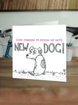 New Dog Card