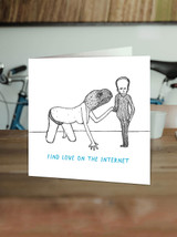 Love On The Internet Card