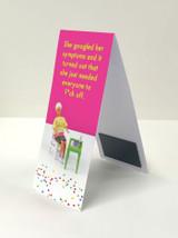 Googled Symptoms Magnetic Bookmark