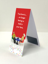 True Love Magnetic Bookmark