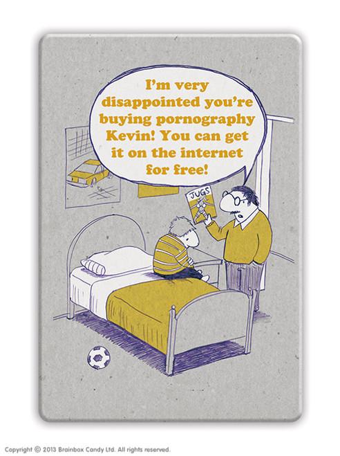Pornography Fridge Magnet