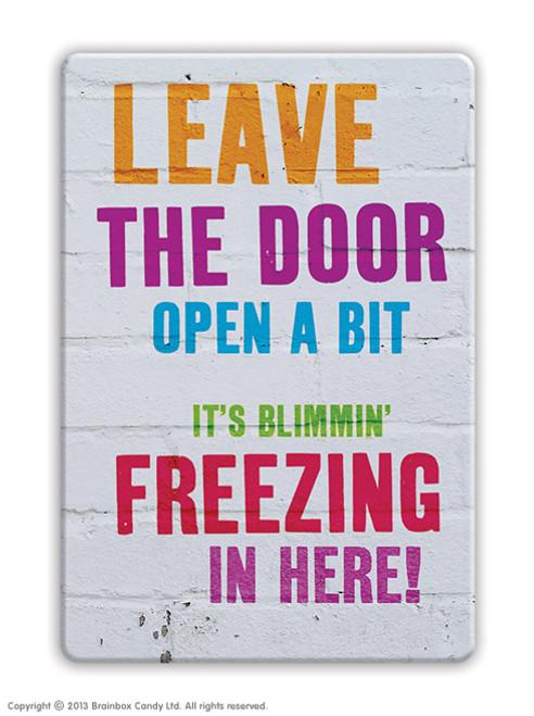 Freezing Fridge Magnet