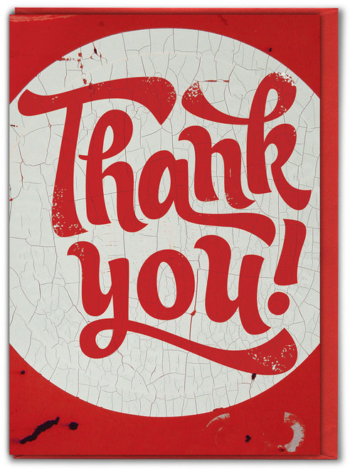 Thank You! Greetings Card - Multi Pack Options Available