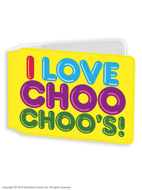 I Love Choo Choo's Travel Card Wallet