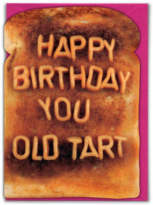 Old Tart Greeting Card