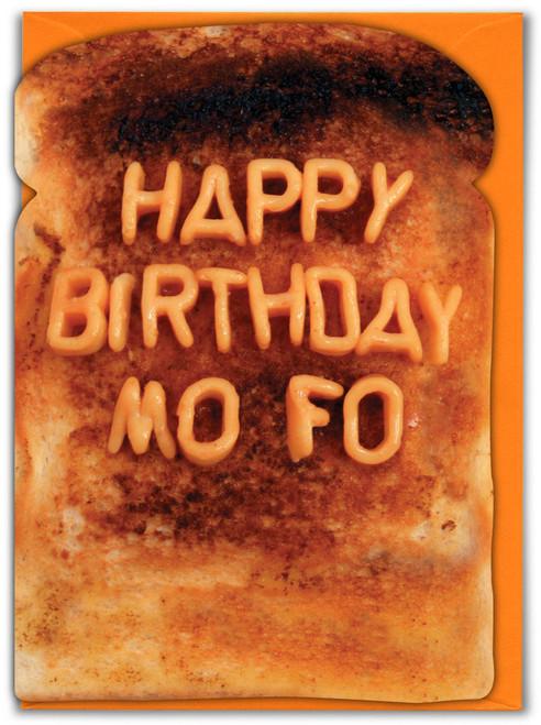 Mofo Birthday Card