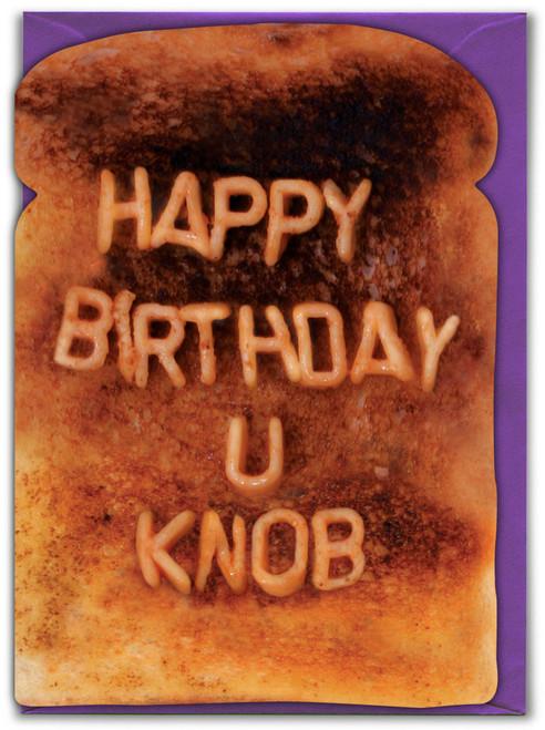 U Knob Birthday Card