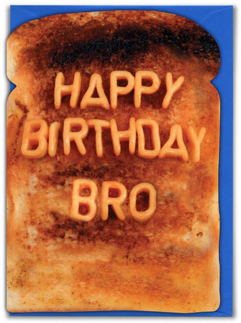 Bro Brother Birthday Card