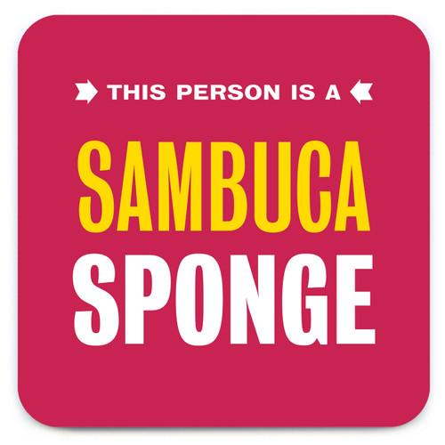 Sambuca Sponge Coaster