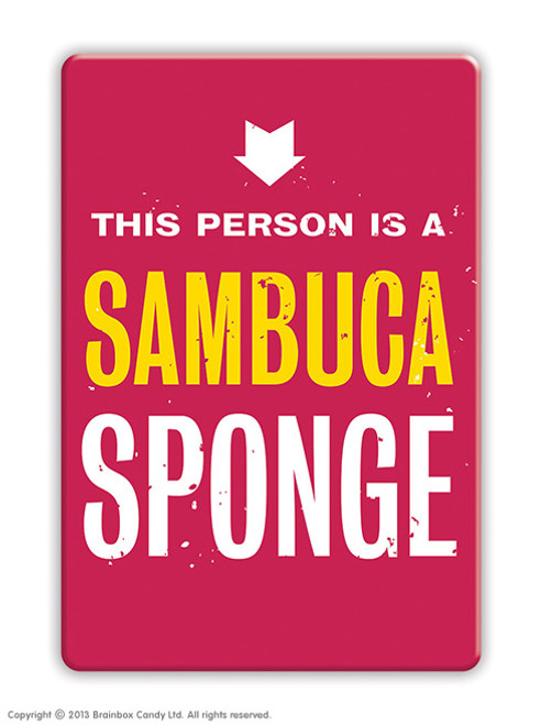 Sambuca Sponge Fridge Magnet