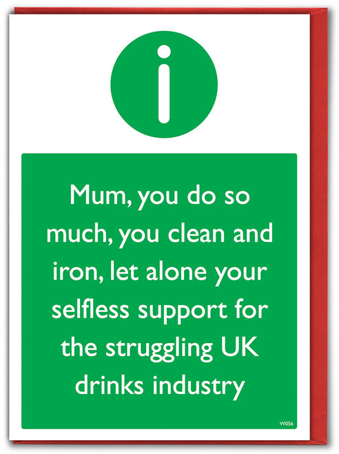 Drinks Industry Mother's Day Card