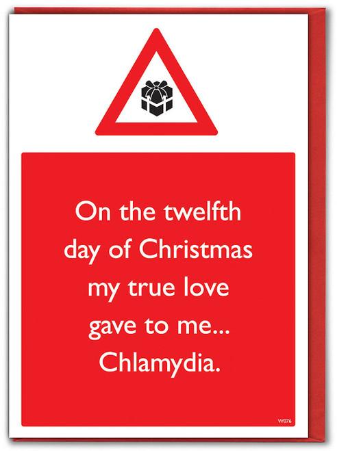Chlamydia Christmas Card
