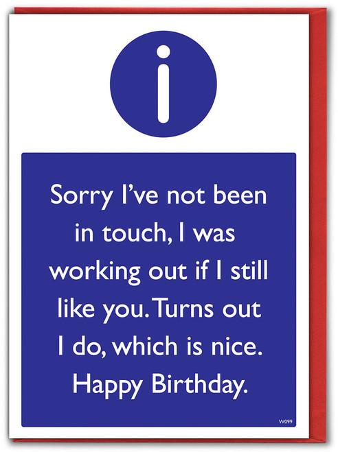 I Still Like You Birthday Card