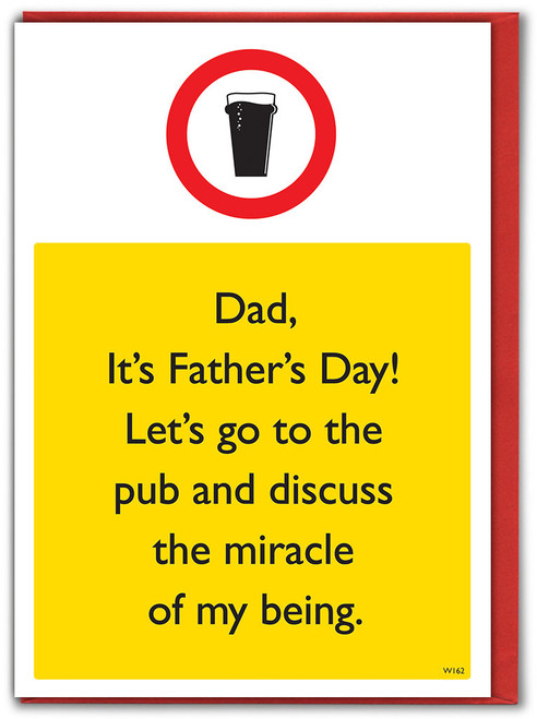 Miracle Of My Being Father's Day Card