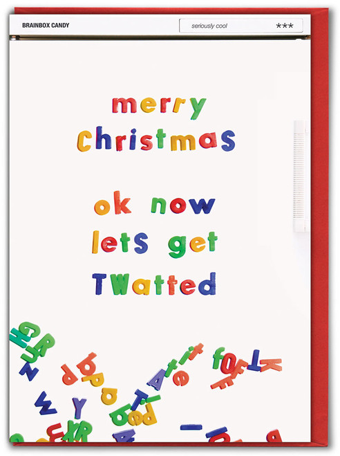 Let's Get Twatted Christmas Card