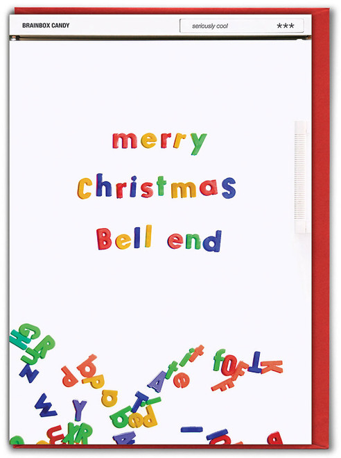 Merry Christmas Bell End Card