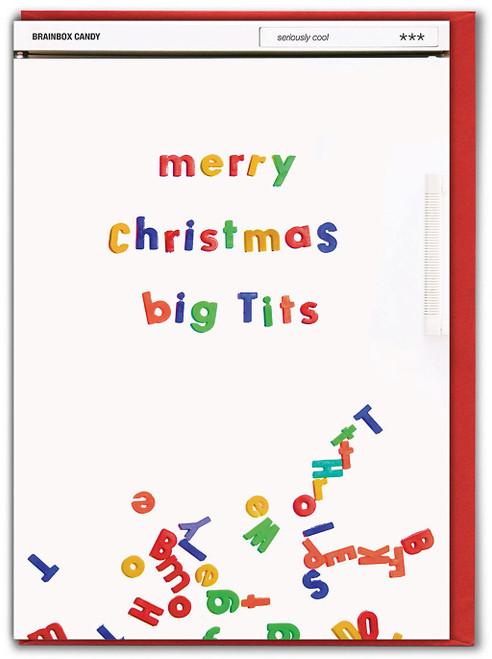Merry Christmas Big Tits Christmas Card