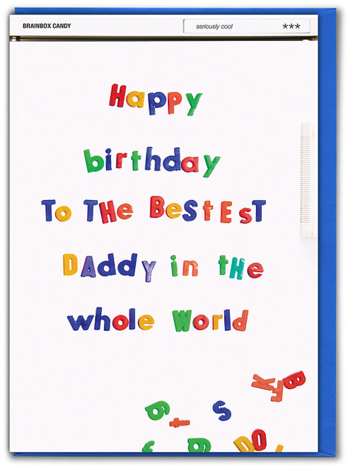 Bestest Daddy Birthday Card