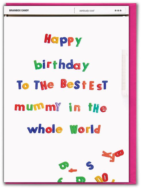 Bestest Mummy Birthday Card