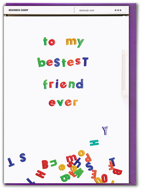 Bestest Friend Ever Birthday Card