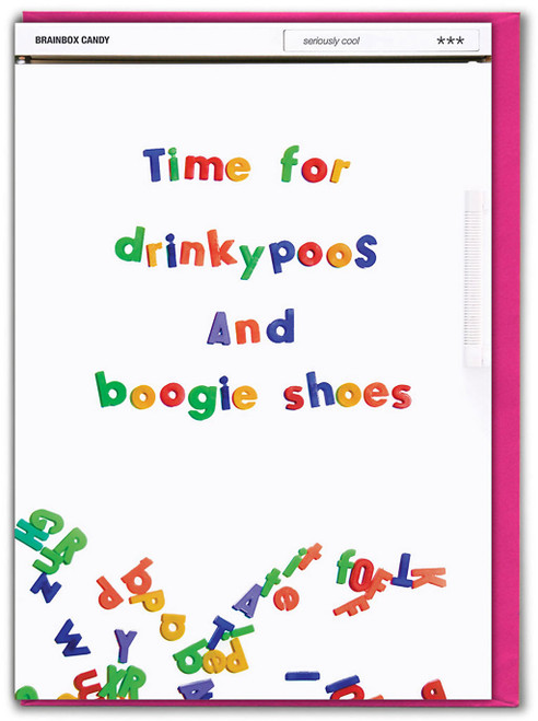 Drinkypoos Birthday Card