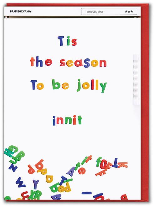 Tis The Season Innit Christmas Card