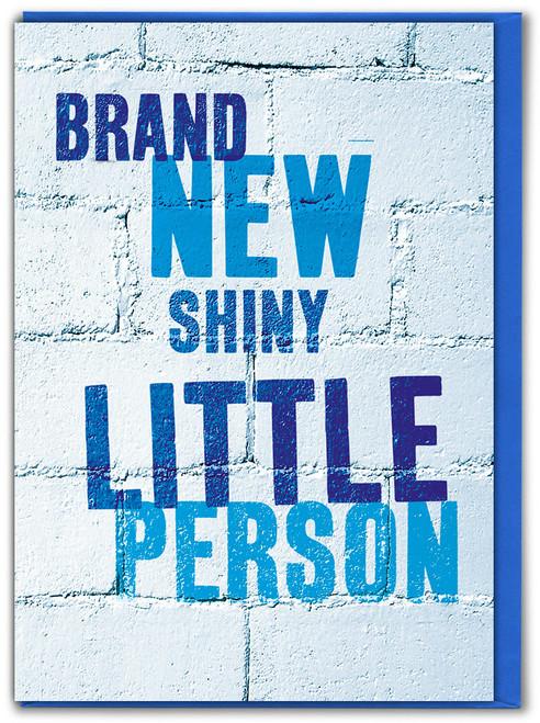 Brand New Little Boy New Baby Card