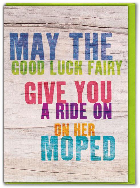 Good Luck Fairy Card
