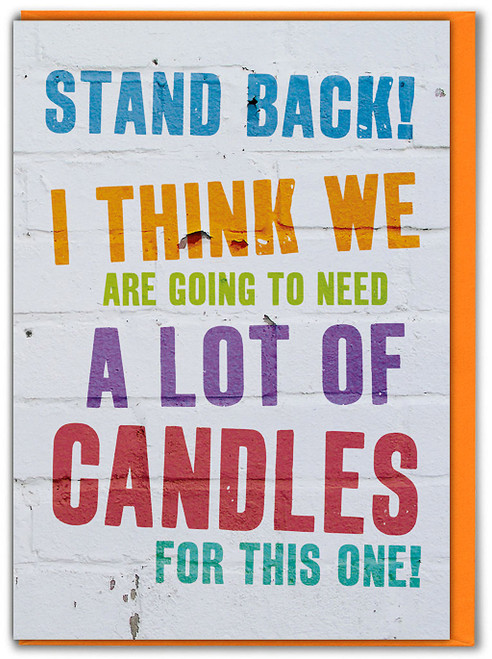 Lots Of Candles Birthday Card
