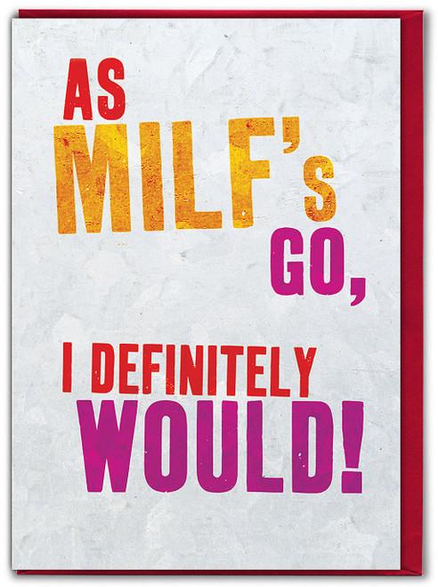 Milfs Valentine Card