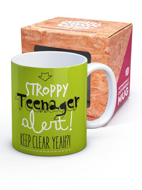 Stroppy Teenager Boxed Mug