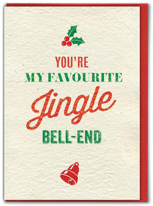Jingle Bell End Christmas Card