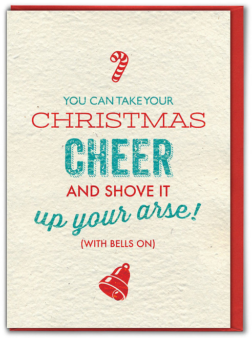 Christmas Cheer Christmas Card