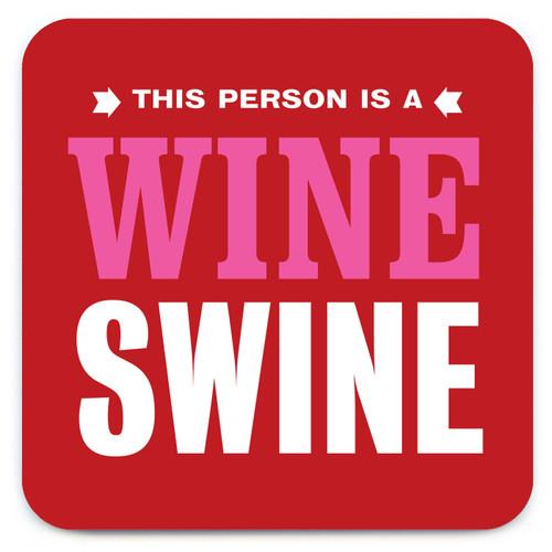 Wine Swine Coaster (Speckled)