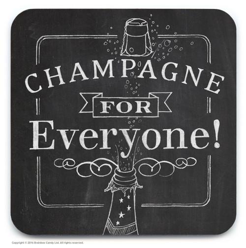 Champagne Coaster