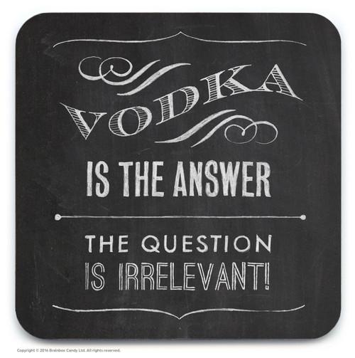 Vodka Answer Coaster