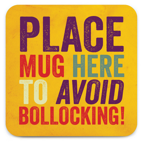 Avoid Bollocking Coaster