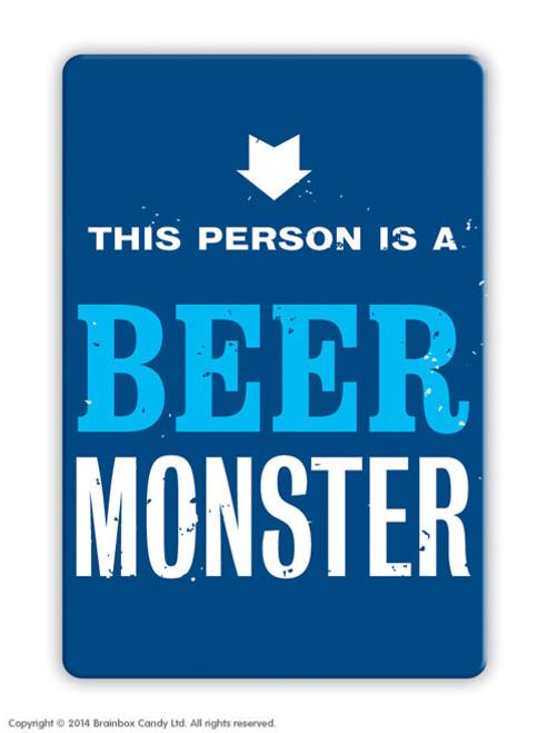 Beer Monster Magnet