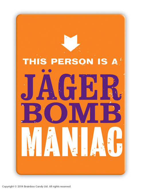 Jager Bomb Magnet