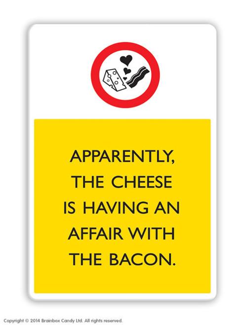 Cheese & Bacon Affair Magnet