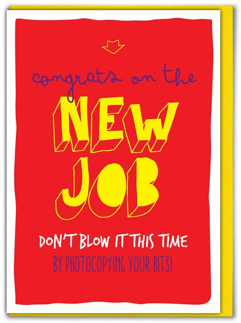 New Job Photocopier Card