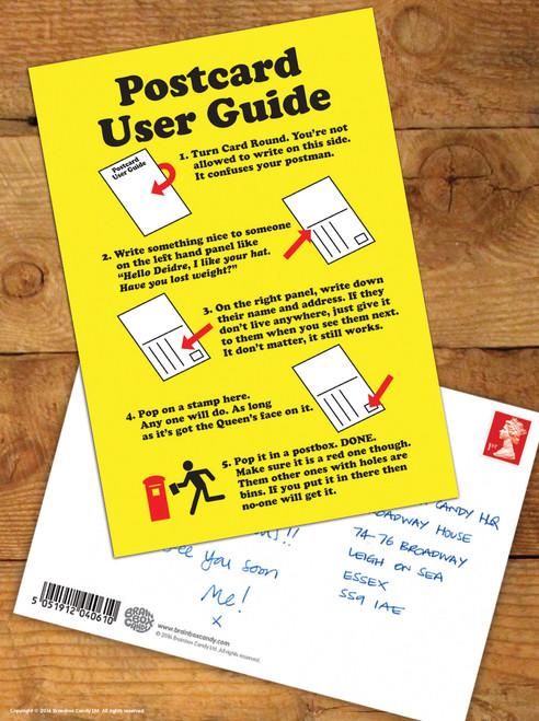 User Guide Postcard