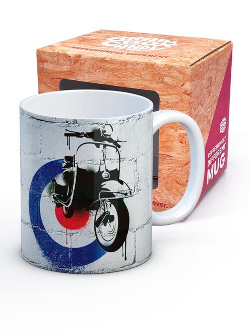 Mod Scooter Boxed Mug