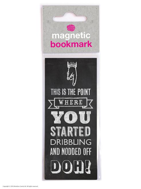 Fell Asleep Magnetic Bookmark