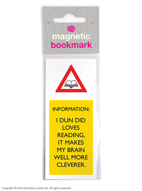 Brain Well More Cleverer Magnetic Bookmark