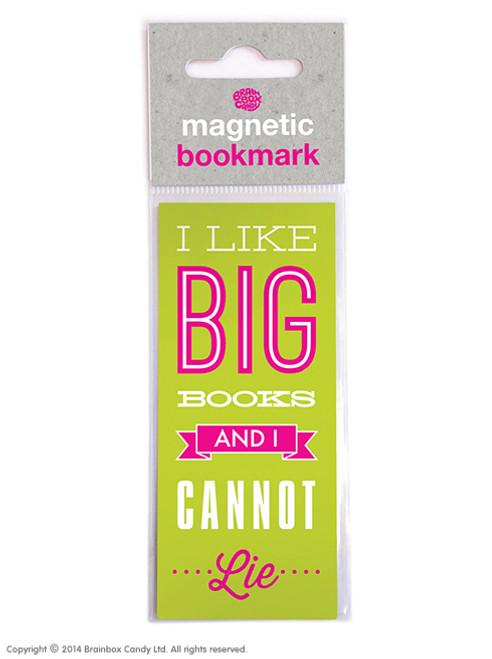 Big Books Magnetic Bookmark