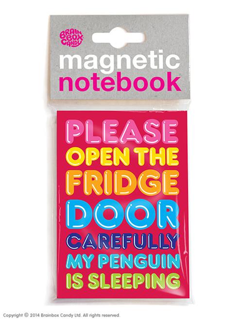Penguin Sleeping Magnetic Notebook