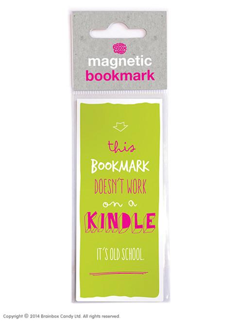 Old School Kindle Magnetic Bookmark