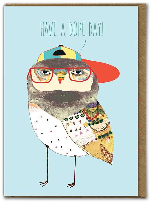 Dope Day Birthday Card