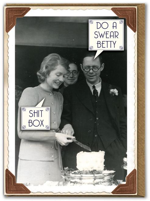 Shit Box Birthday Card